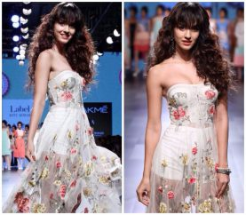 Disha Patani Graces The Ramp As The Show Stopper For LFW