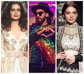 Peek-A-Boo: Celebrities At The Lakme Fashion Week