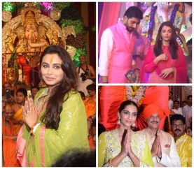 In Pics: How Bollywood Actors Celebrate Ganesh Chaturthi