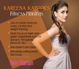 Celebrity Fitness: Kareena Kapoor's Weight-Loss Regime Post Pregnancy
