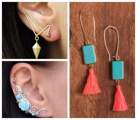 Make A Statement With These Unique Earrings