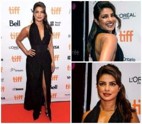 Priyanka Chopra Graces The Red Carpet At Toronto Film Festival