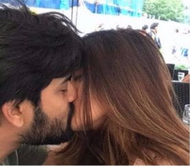 Hotness Alert: Riya Sen Shares A Picture Of A Passionate Liplock With Hubby Shivam Tewari