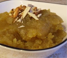 Fasting Treat: How To Make Sweet Potato Halwa