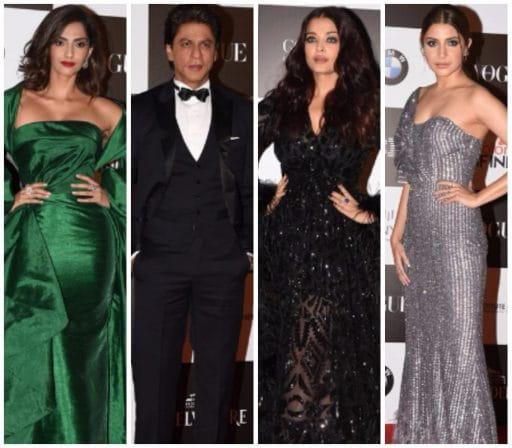In Pics: Bollywood Celebs Up Their Fashion Game At A Recent Award Show