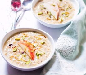 Fasting Treat: Apple Kheer Recipe