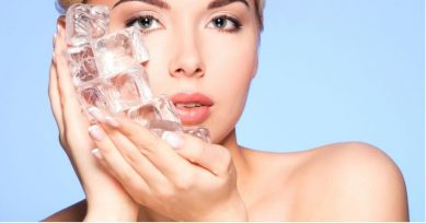 Beauty Benefits: Get Glowing Skin Using Ice