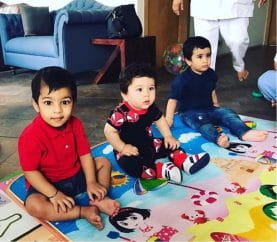 Cuteness Overload: Taimur Ali Khan And Laksshya Kapoor Go On A Play Date