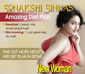 Celebrity Fitness: Sonakshi Sinha's Weightloss Secret