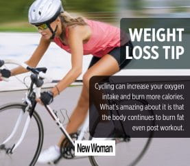 4 Tips To Lose Weight By Cycling
