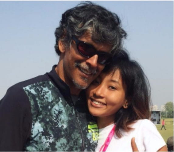 Milind Soman Spotted With His 18-Year-Old Girlfriend At A Recent Event