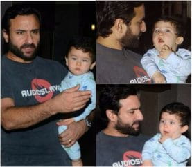 Taimur Ali Khan Celebrated Soha Ali Khan's Birthday