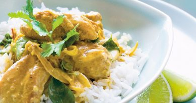 How To Make Tasty Coconut Chicken Curry