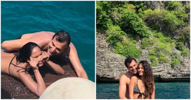 In Pics: Lisa Haydon Celebrates Her Wedding Anniversary In A Tropical Paradise