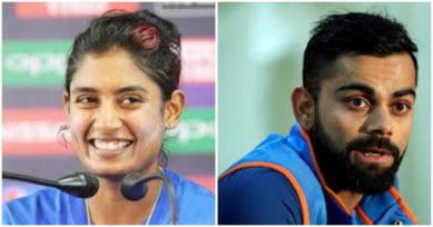 Mithali Raj & Virat Kohli Occupy No. 1 Position In ICC's ODI Batting Rankings