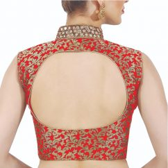 Backless Blouse Designs You Can Wear To Almost Any Occasion