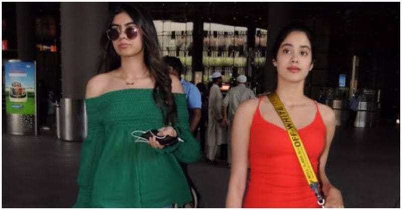 Jhanvi & Khushi Kapoor Are Fashion Inspiration In Their Latest Airport Outing