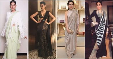 10 Bollywood Actresses Who Rocked Sarees In A Different Way