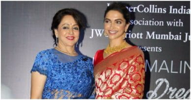 Deepika Padukone Shares A Beautiful Handwritten Note From Hema Malini