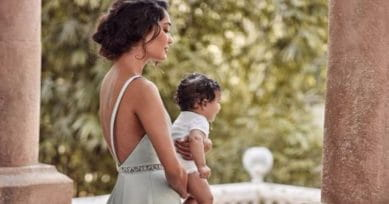 Lisa Haydon Poses With Son Zack In Latest Photoshoot