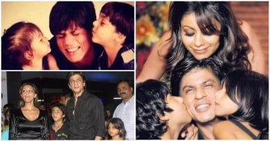 """17 Rare Pictures Of SRK With His Kids That Will Make You Say """"Awww"""""""