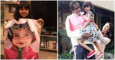 Happy B'Day Aaradhya: Amitabh Bachchan Posts Adorable Photos Of The Little Munchkin