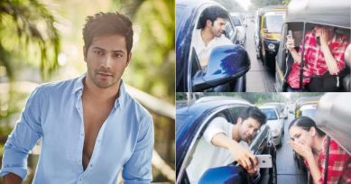 Varun Dhawan Gets E-Challan For Taking A Selfie With A Fan