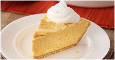 Yummy Dessert: No-Bake Pumpkin Cheesecake