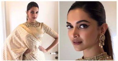 Deepika Padukone In A Metallic Saree Is All The Traditional Inspiration You Will Need!