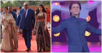 In Pics: Sridevi, SRK, Jahnvi Kapoor Make IFFI 2017 A Starry Affair