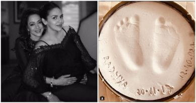Esha Shares A Special Moment As Daughter Radhya Turns A Month Old