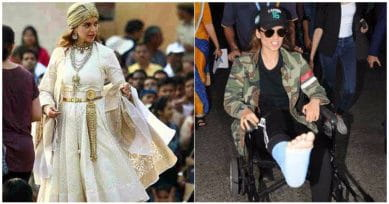 Kangana Ranaut Injured On The Sets Of Manikarnika