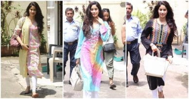 Jhanvi Kapoor's Desi Style Is To Die For