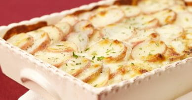 Easy Lunch Recipe: Pommes Gratin
