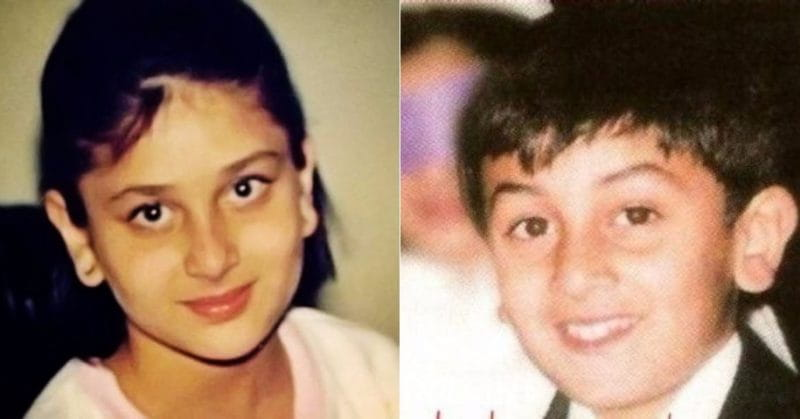 Blast From The Past These Childhood Pictures Of Ranbir Kapoor And Kareena Will Make