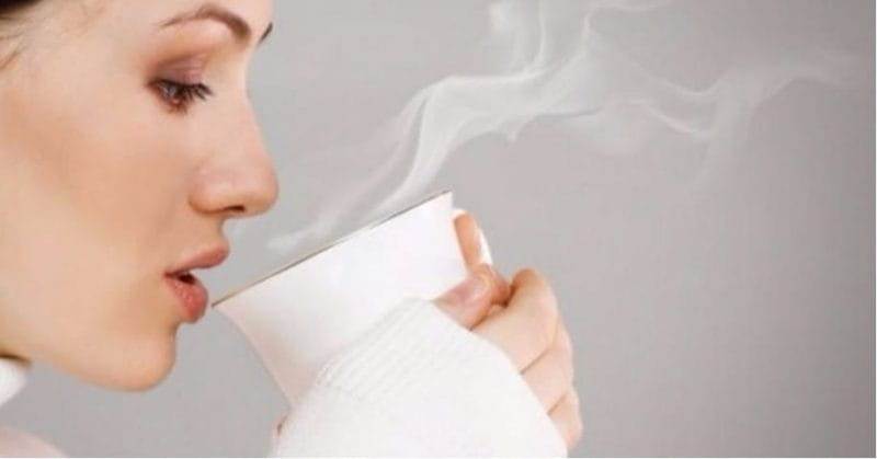 Image result for drinking hot water