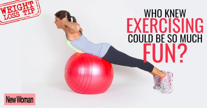 5 Stability Ball Exercises That Aid In Weight-Loss