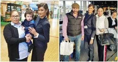Awww! Taimur Ali Khan Is His Cute Self At The Amsterdam Airport