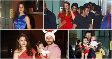 Just Like Taimur Ali Khan, Sister Inaaya Stole All The Limelight At Arpita Khan's Christmas Party.
