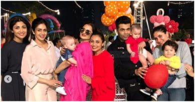 In Pics: Rani Mukherji Celebrates Daughter Adira's B'Day With A Star-Studded Bash