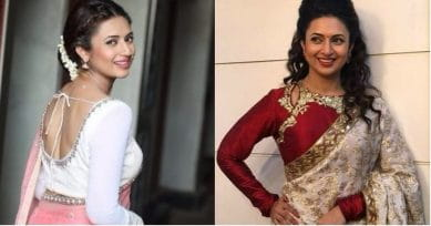 9 Popular Blouse Designs Worn By Divyanka Tripathi That Are Gorgeous