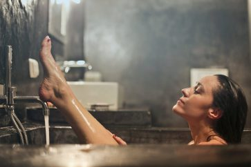 4 Steamy Positions For Bathroom Sex