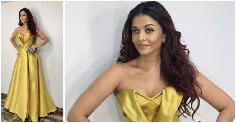 In Pics: Aishwarya Rai Looks Ethereal In This Yellow Gown