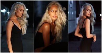 In Pics: Lisa Haydon Goes Bold In Blonde