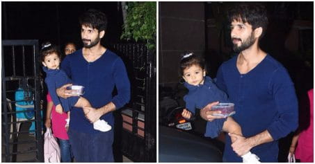 Shahid Kapoor Twinning With Daughter Misha Is The Cutest Thing You Will See Today