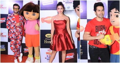 In Pics: Alia Bhatt, Varun Dhawan, Ranveer Singh Look Ravishing In Red At Kids Choice Awards 2017
