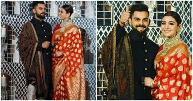 In Pics: Anushka Sharma And Virat Kohli Look Like A Dream At Their Wedding Reception