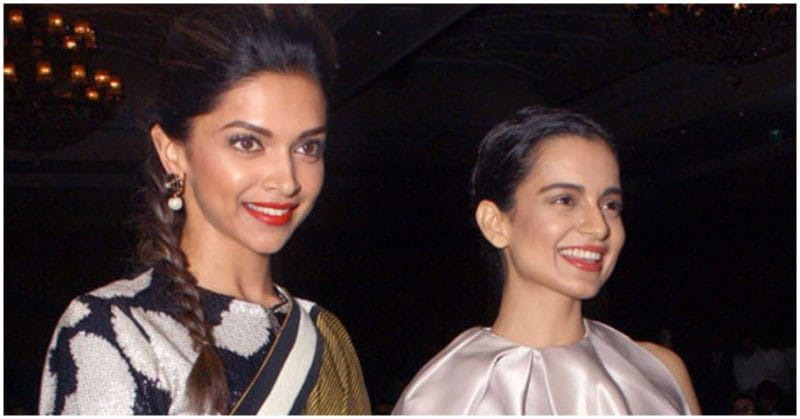 Kangana Ranaut Clears The Air About Her Equation With Deepika Padukone