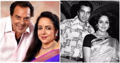 Hema Malini Shares An Adorable Throwback Picture On Husband Dharmendra's B'Day