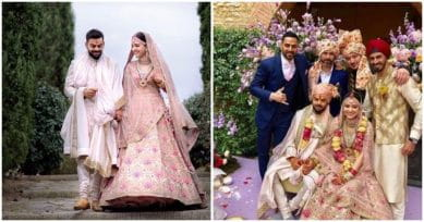 Who Were The Lucky Few Who Made It To The Virat-Anushka Wedding In Italy?